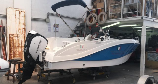 OKIBOATS BARRACUDA 545